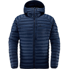 Haglöfs Essens Mimic Hooded Jacket Herre tarn blue